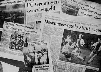 krantenkoppen na overwinning op Groningen