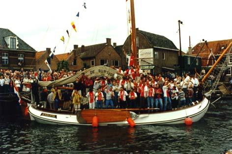 intocht van IJsselmeervogels