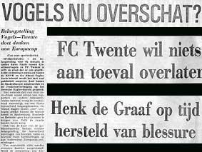 krantenkoppen van 15 april 1975