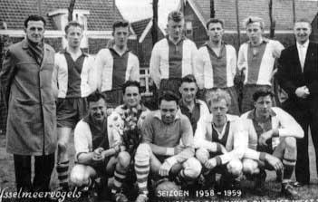 IJsselmeervogels 1958 -1959