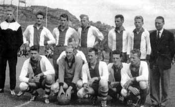 1962 IJsselmeervogels winnaar KNVB-beker in katwijk, IJsselmeervogels-Heerjansdam 6-2