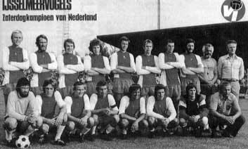 IJsselmeervogels zaterdag en algeheel amateurkampioen 1976
